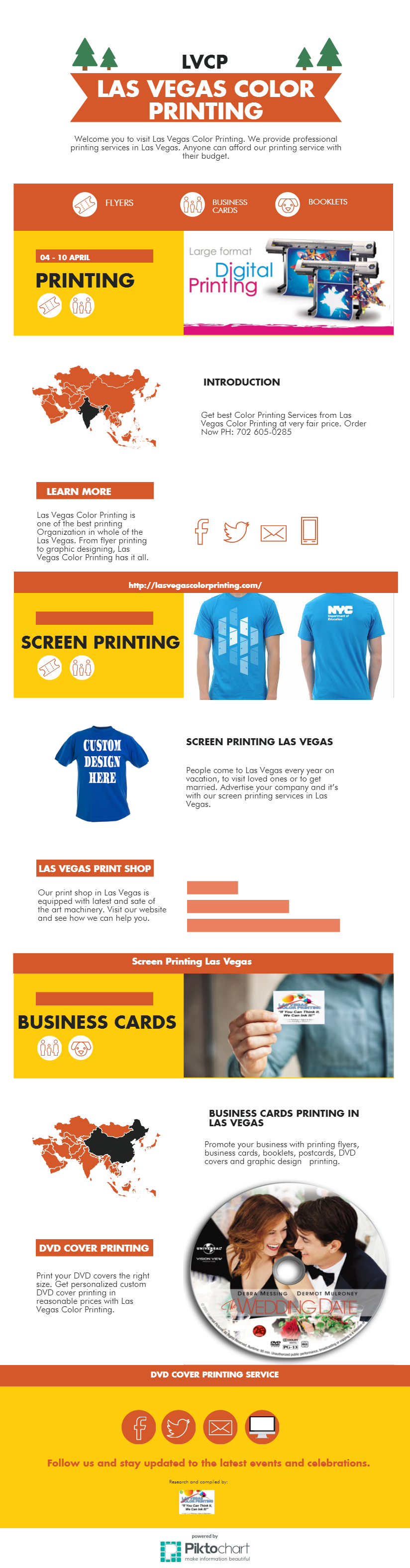 At Las Vegas Color Printing, we have latest technology to print ...
