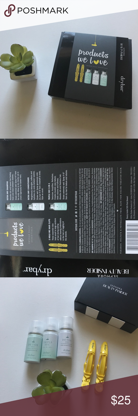 NWT Drybar Beauty Insider Box from Sephora Sephora Sephora makeup