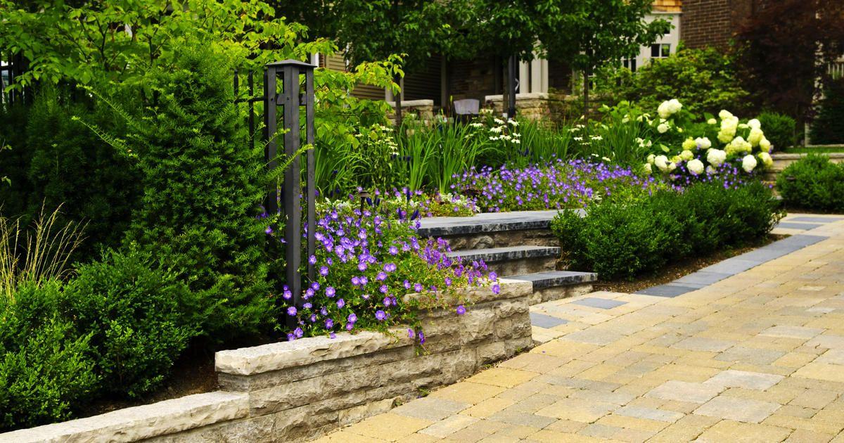 Hervorragend Ideen · Dank Zahlreicher Moderner Bearbeitungsmethoden Lassen Sich  Betonsteine Ganz Natürlich In Den Garten Integrieren Und Zu Ansprechenden
