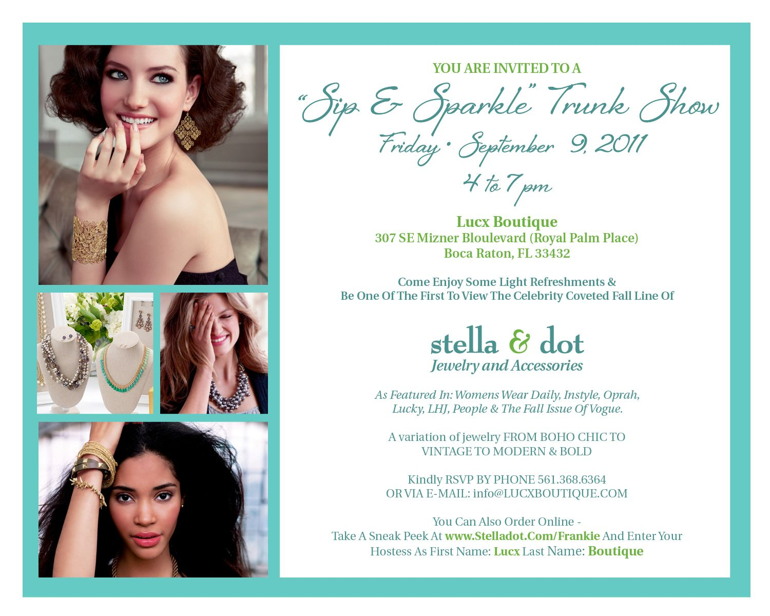 Stella and dot party invitation i love the format stella and stella and dot party invitation i love the format stopboris Gallery