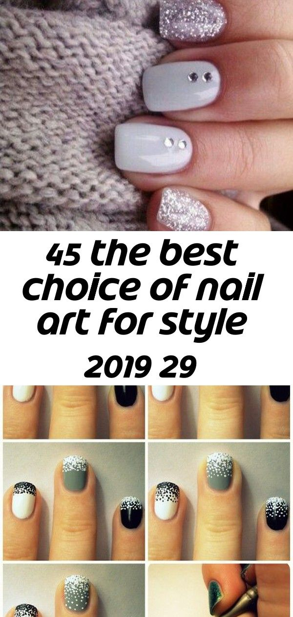 45 the best choice of nail art for style 2019 29