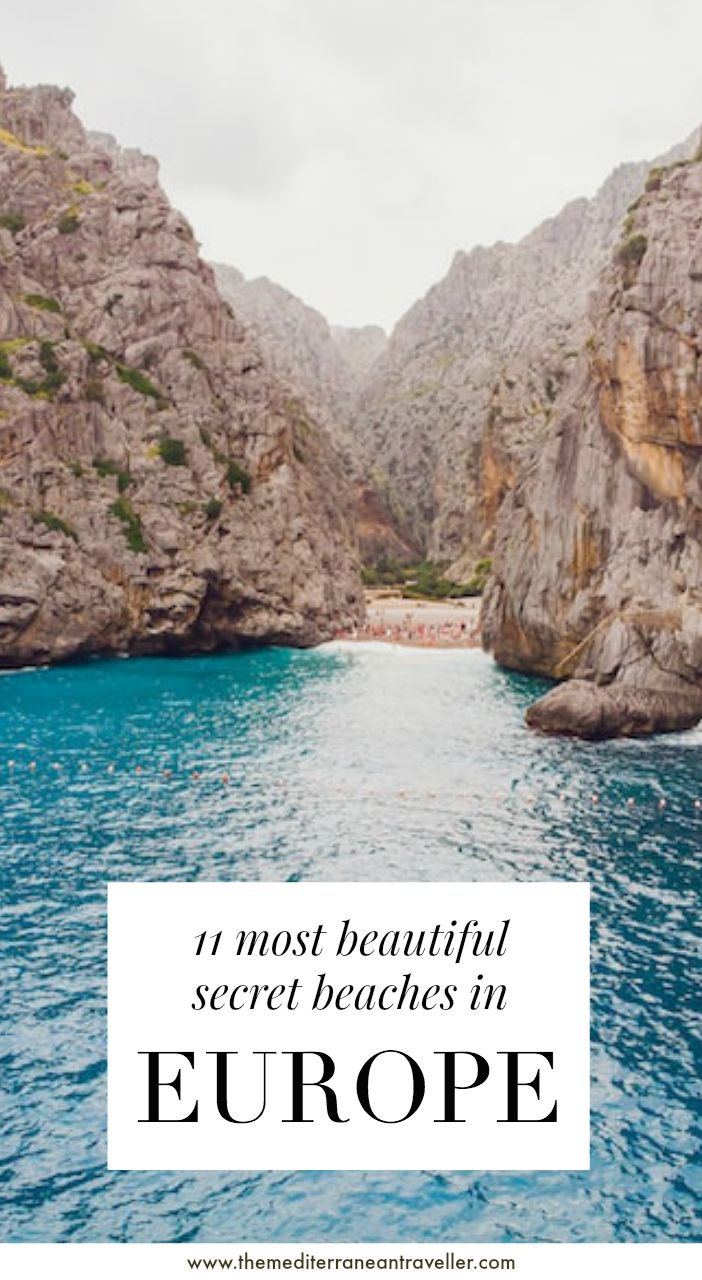 11 Most Beautiful Secret Beaches in Europe. Do you like your beaches secluded, remote, and a bit adventurous? You've got to put in the extra mile to reach these incredible hidden beaches, but they'll be worth it. #beach #europe #travel #tmtb