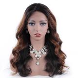 Full Lace Brazilian Ombre celebrity 100% Human Hair Wg