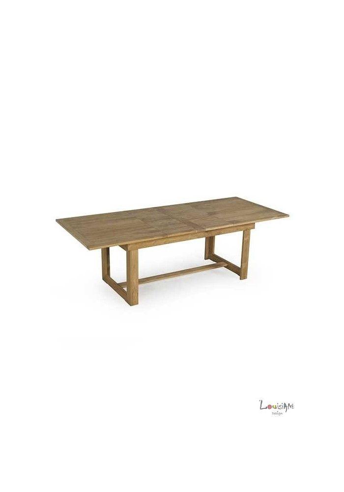 499 Livraison France Offerte Table Extensible 10 Personnes En Teck Massif Table Et Chaises De Jardin Table Teck Chaise De Jardin