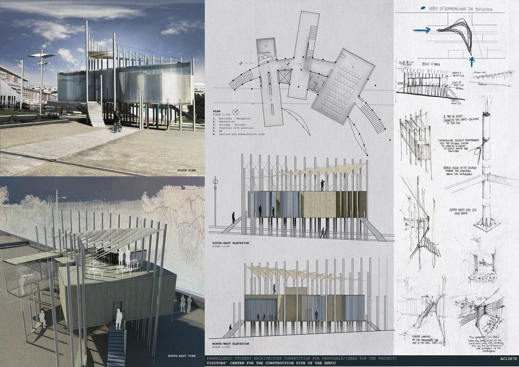 Panhellenic student architecture competition by