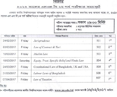 Educational Examination, Job Exam and All Exam Results in one - casual leave application