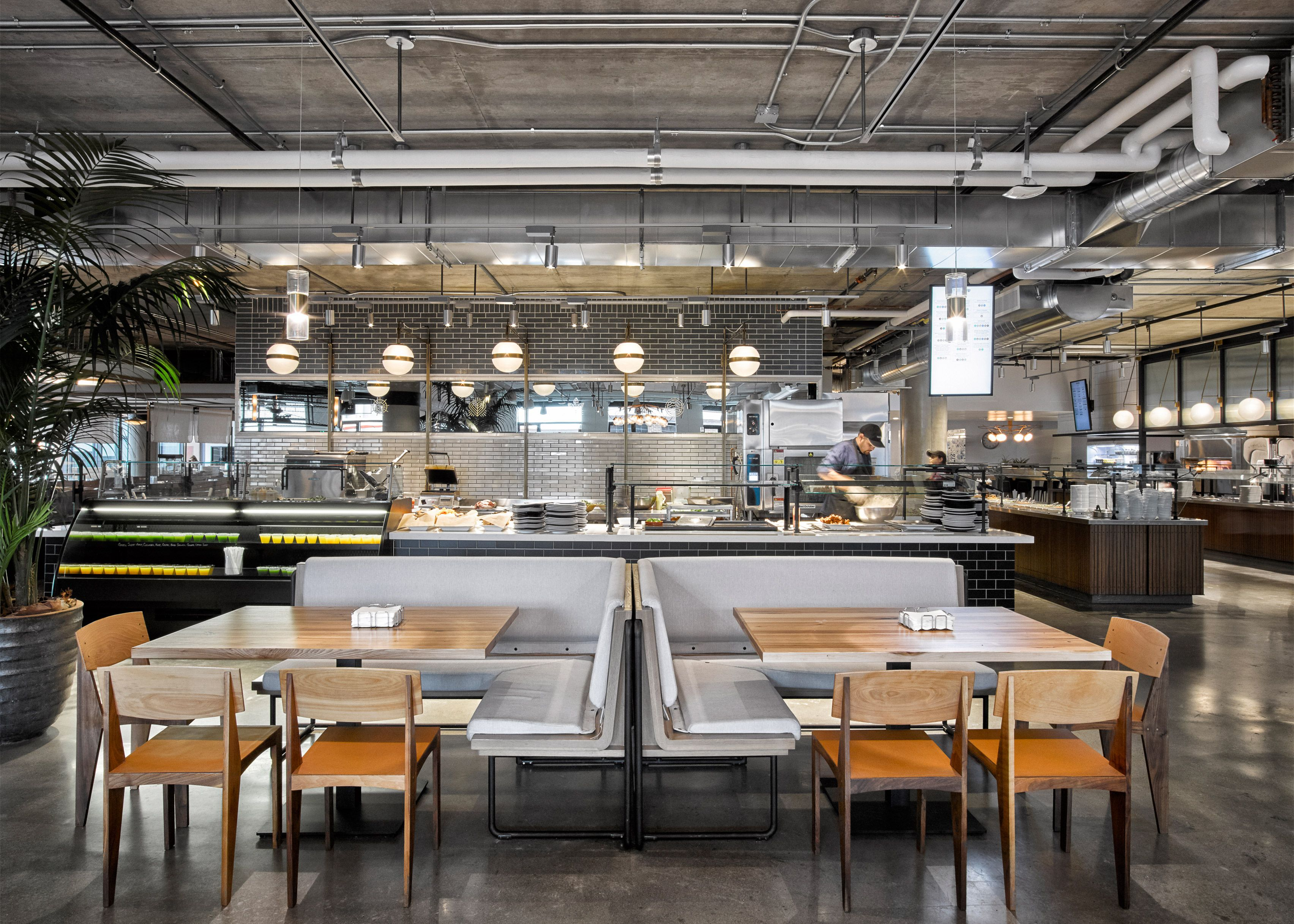 Dropbox opens industrial-style cafeteria at California headquarters