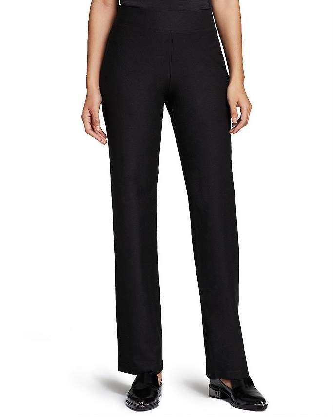 d5646e6a1c29e6 Eileen Fisher Stretch-Crepe Straight Pants, Regular & Petite in 2019 ...