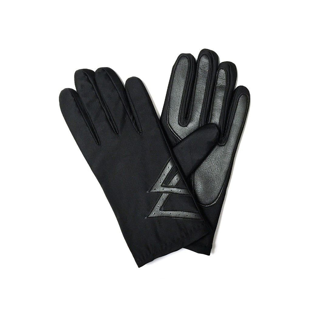 Fake leather driving gloves -