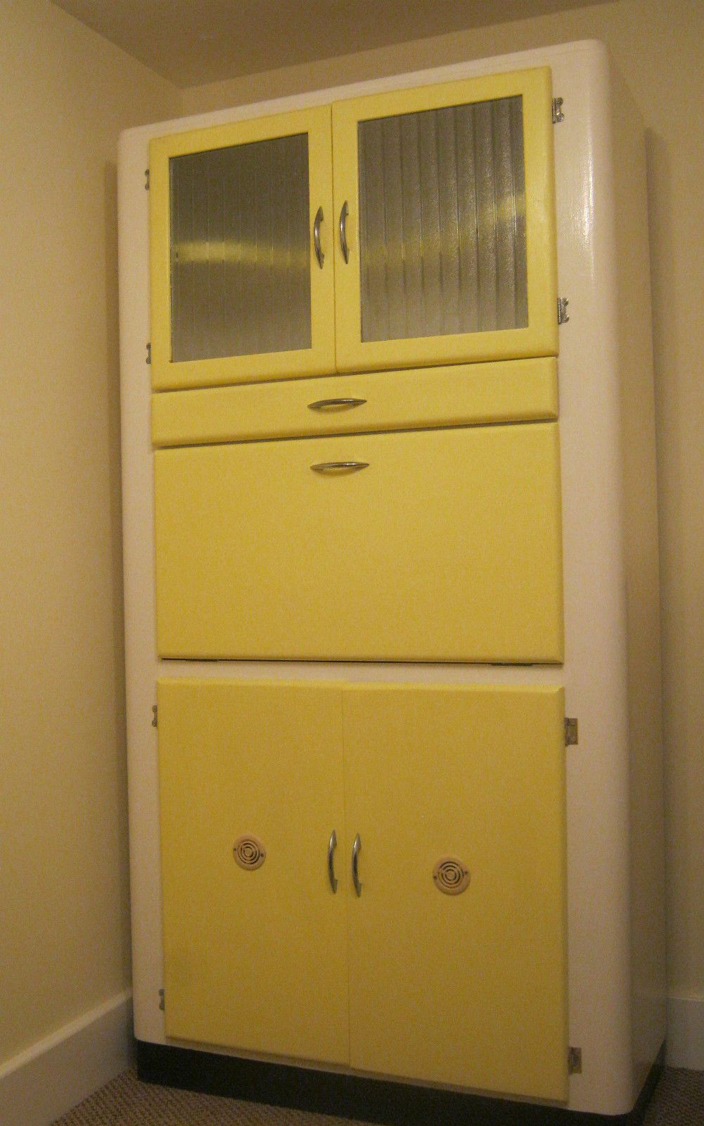 Vintage Retro Kitchen Larder Pantry Unit Cupboard Cabinet