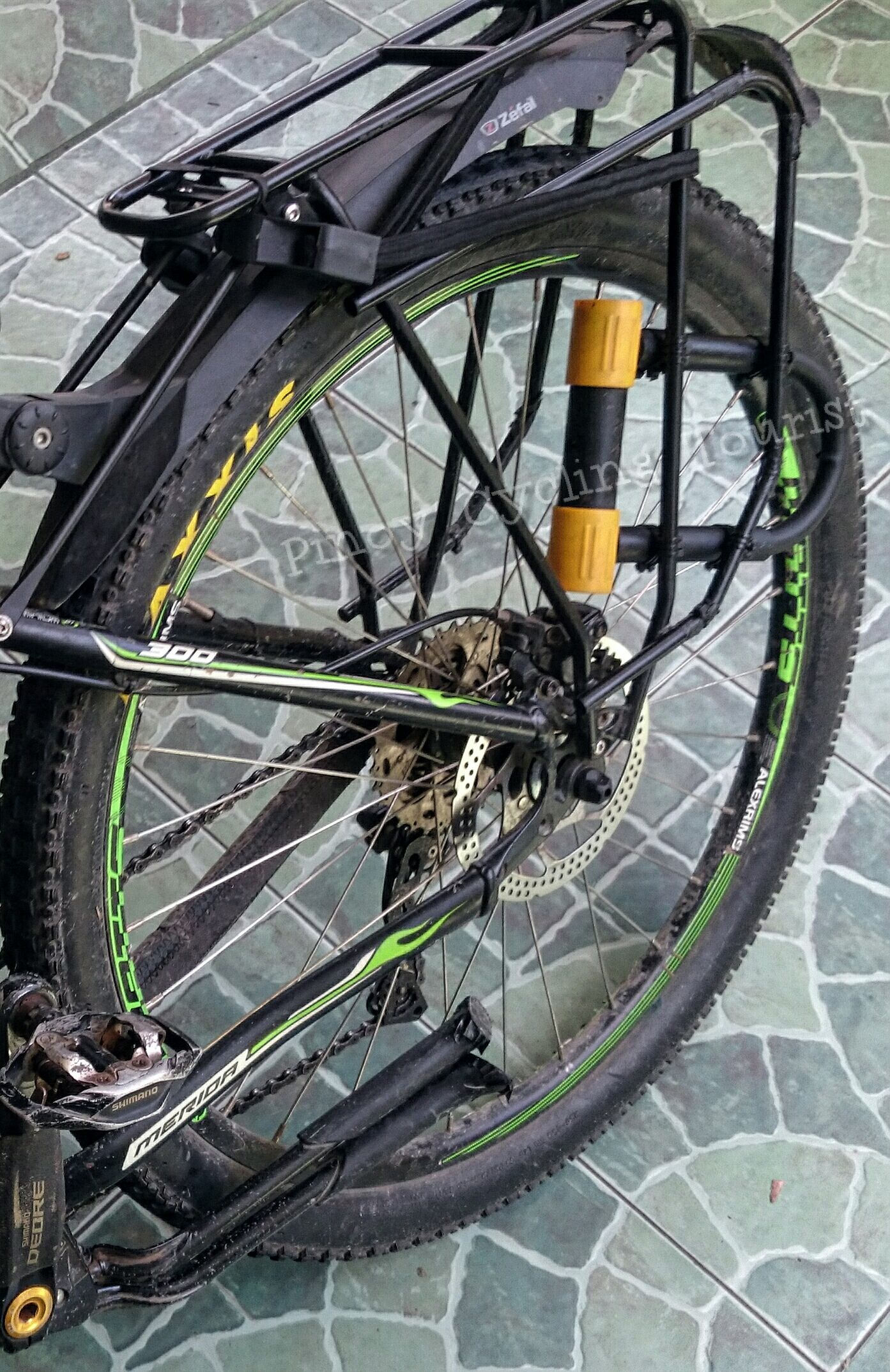 Diy U Lock Holster Source Fb Pinoy Cycling Tourist Bicycle