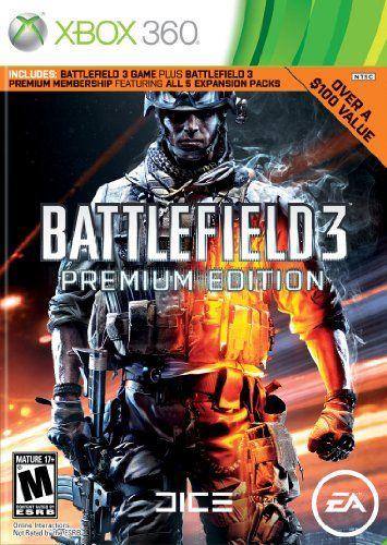 Battlefield 3 Premium Edition With Battlefield Three Top Class