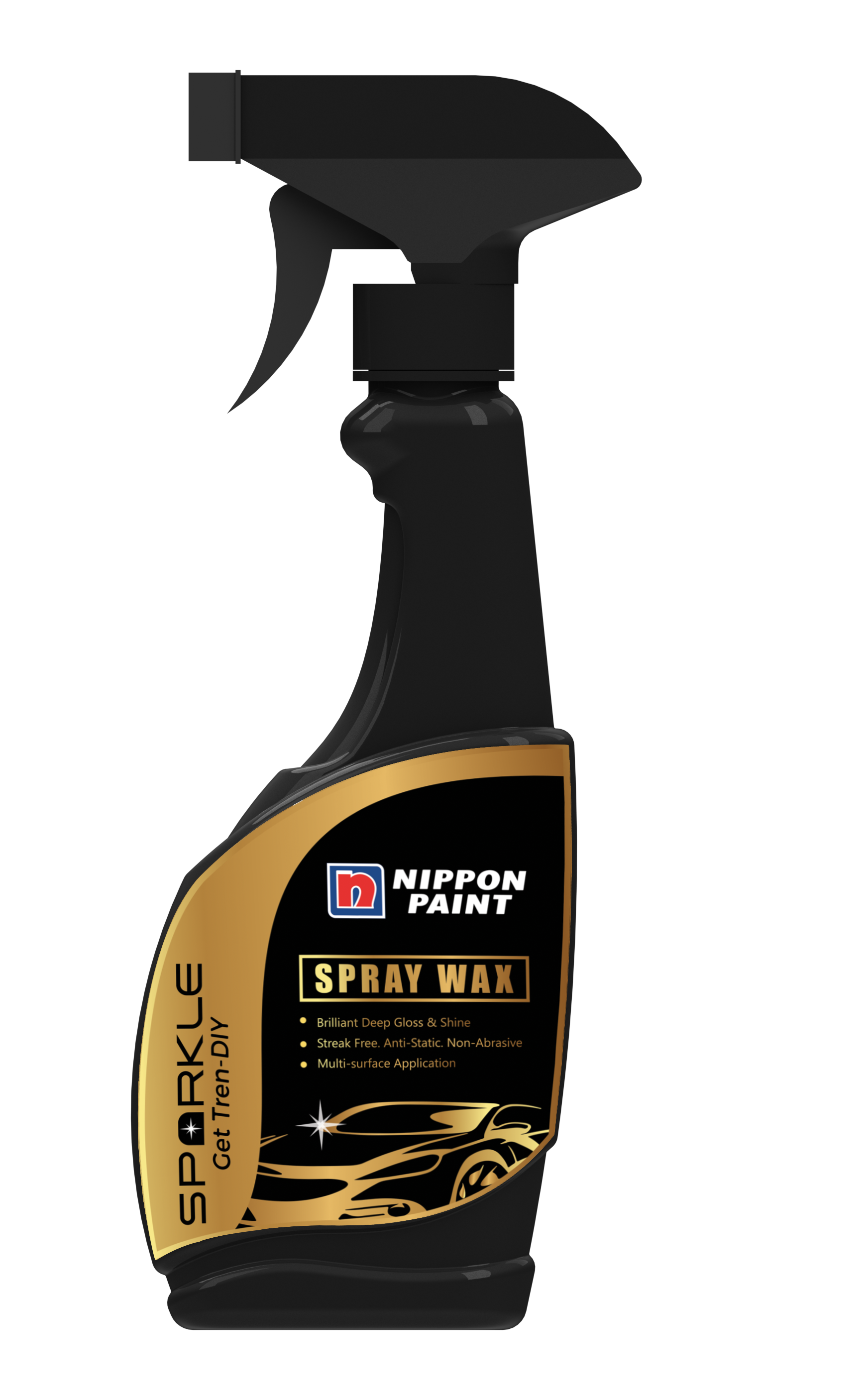 Premium Fast Spray Wax gives a high shine formula and is