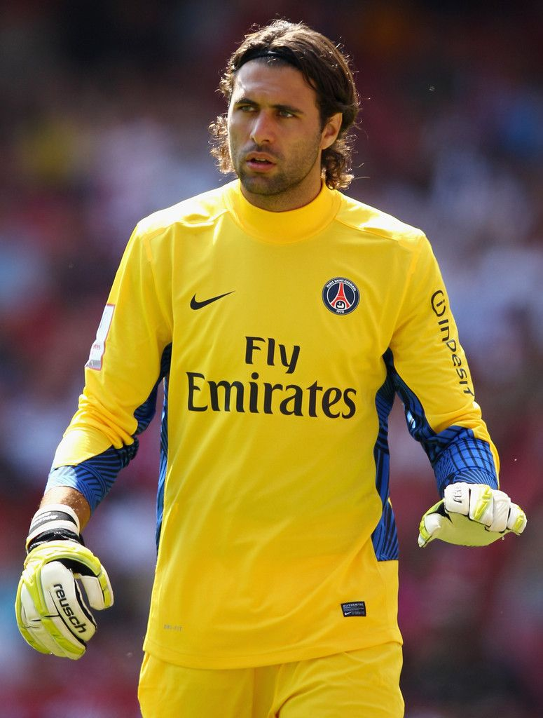 Salvatore Sirigu for PSG - I m going to go out on a limb here and say that  he s going to be better than Gianluigi Buffon for Italy in the coming years. fc03d8407