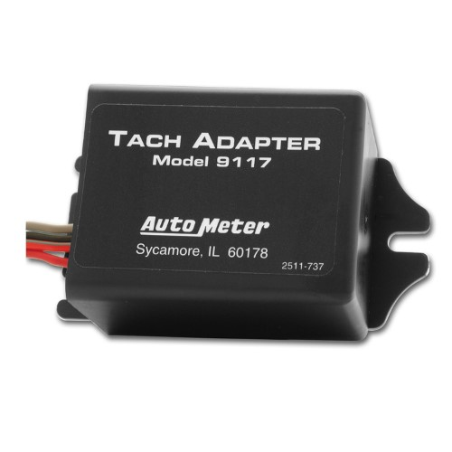 Autometer 9117 Tachometer Adapter Allows Tach To Be Used On Distributorless Ignition Tachometer Gauges Size Chart Electrical Wiring Diagram