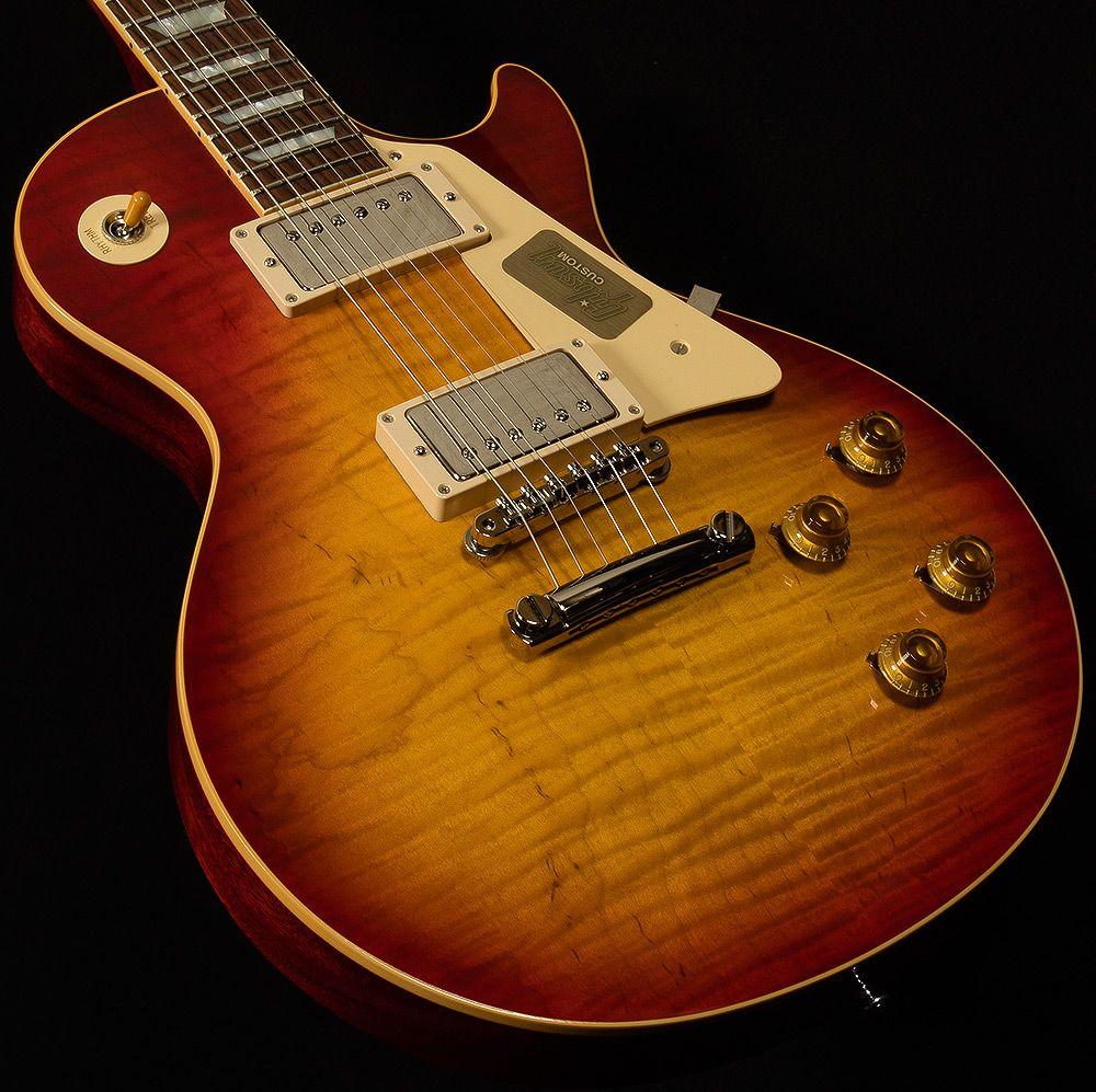 Gibson Custom2017 ModelLes Paul StandardGloss.90-1.00/8.94 lbsWashed Cherry