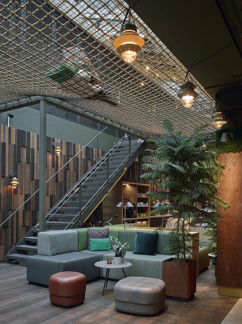 Downtown Camper Lobby Ceiling Net Hotels Stockholm Travelersnotebook Hotel Sweden