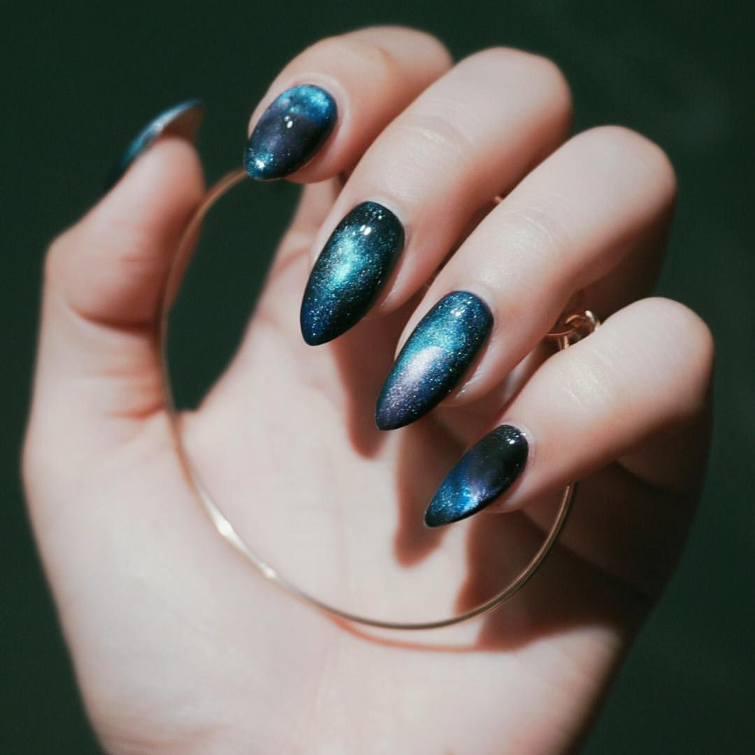 Pin by Diyalim on Ponysmakeup Pinterest Galaxy nails Nails and