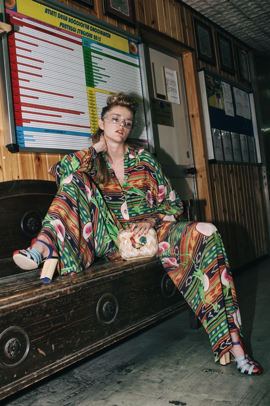 Stella Jean SS 16 | Womenswear Lookbook Photo by Viola Rolando #StellaJean #SS16…