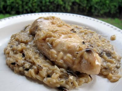 Slow Cooker Chicken Amp Rice Onions Cream And Soups