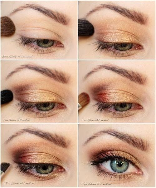 Step by makeup tutorial with pictures