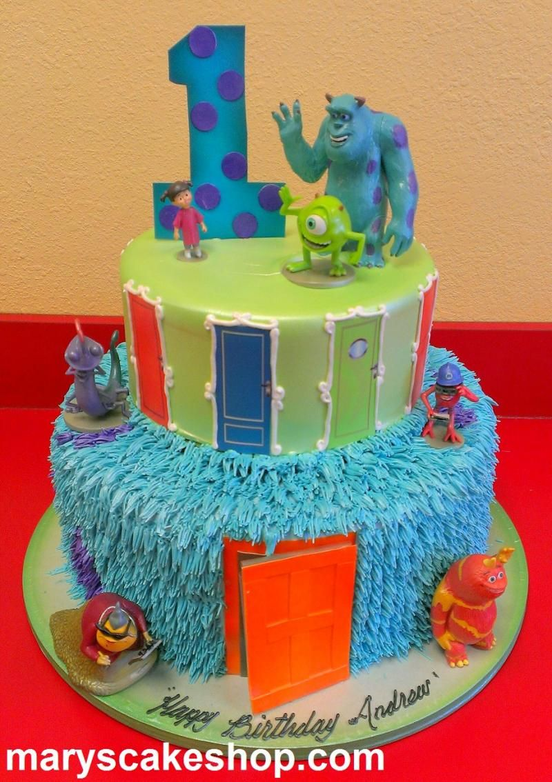 monsters inc birthday cake ideas Marys Cake Shop Birthday Cakes