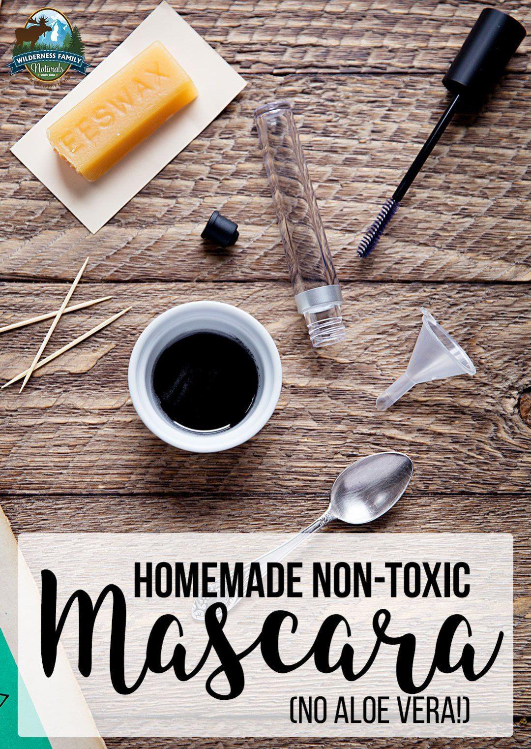 Homemade NonToxic Mascara (no aloe vera!) Homemade