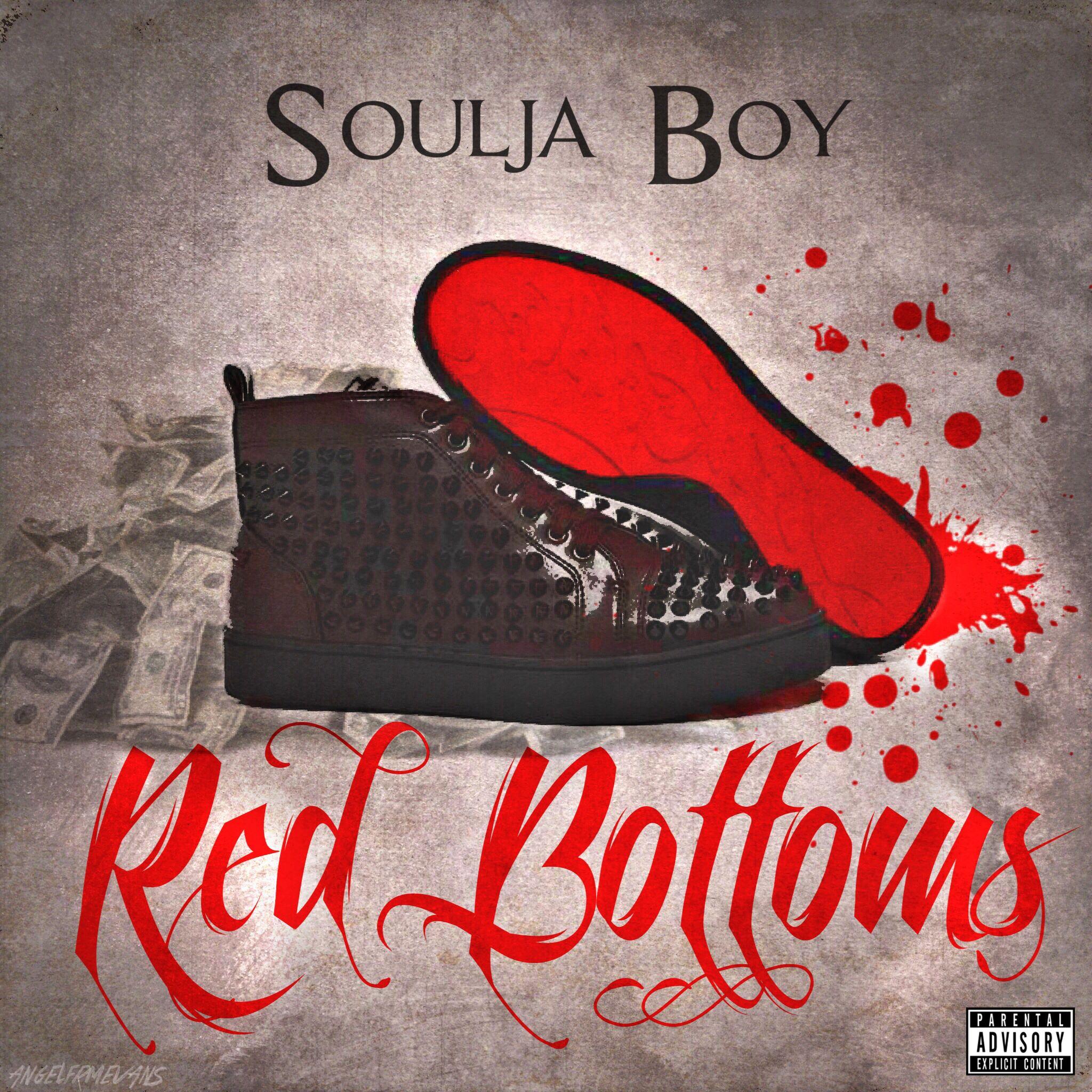 SOULJA boy RED bottoms art by me
