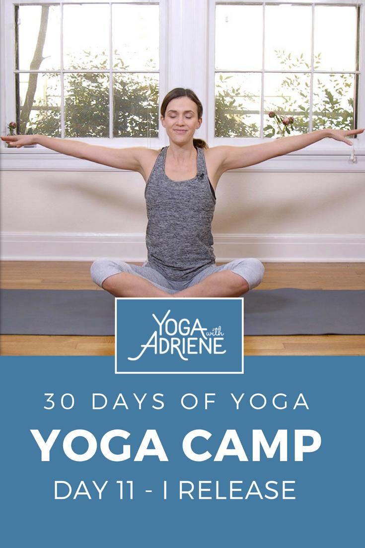 Yoga With Adriene Day 11 : adriene, Getting, Reading, Close!, Ma…, Yoga,