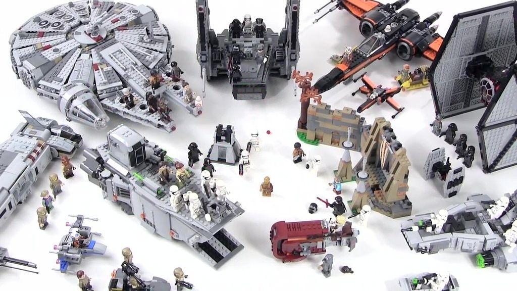Lego Star Wars The Force Awakens All 16 Sets Lego Star Wars