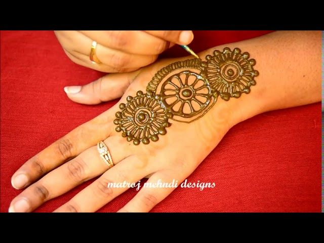 Easy simple arabic mehndi henna designs for hands latest beautiful design also rh in pinterest