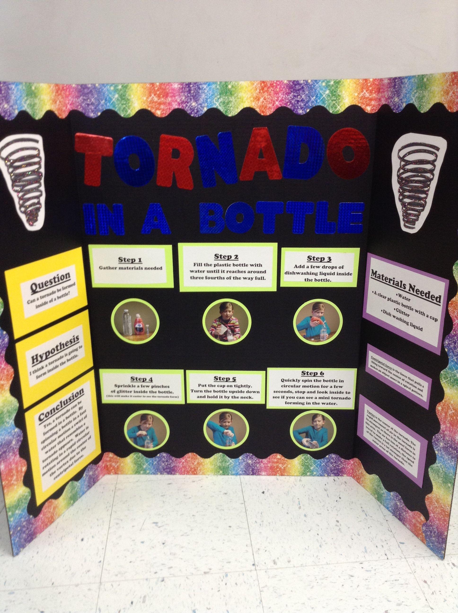 Science Project Tornado In A Bottle