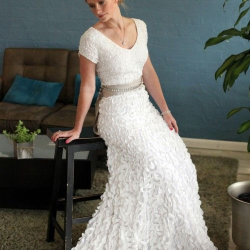 Modest Wedding Dresses For Older Brides
