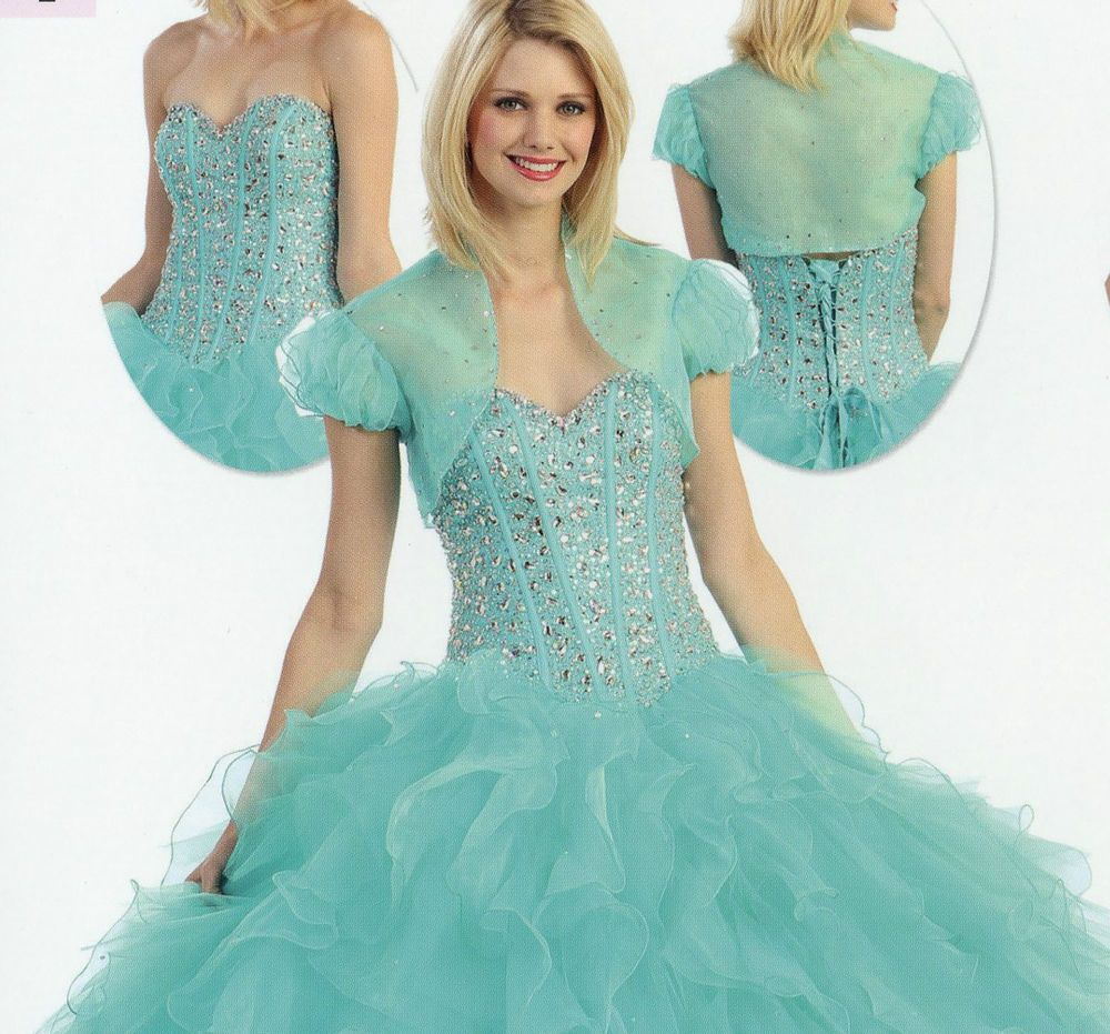 colors quinceanera ball gown dresses prom evening pageant party