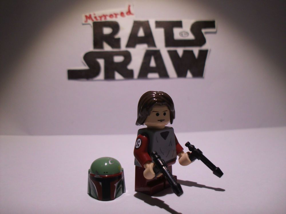 Lego Star Wars minifigures - Trooper Custom Young Boba Fett from ...