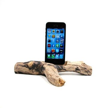 Driftwood Dock iPhone 5 #178, $76, now featured on Fab.