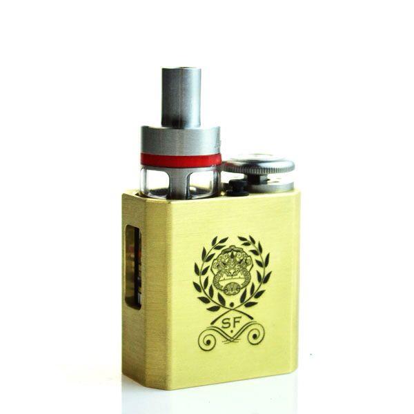 Sweet mod  The Phantus Mini in brass  Recessed tank mod but you can