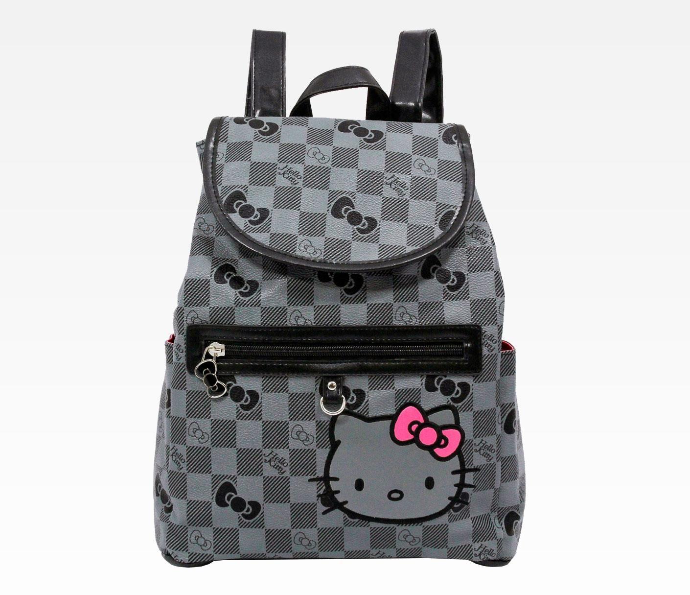 Hello Kitty Mini Backpack Grid