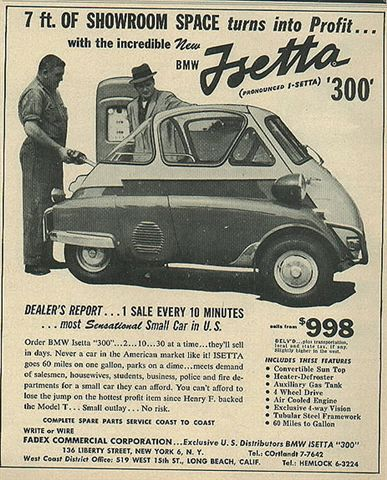 BMW Isetta Ad by SA_Steve, via Flickr