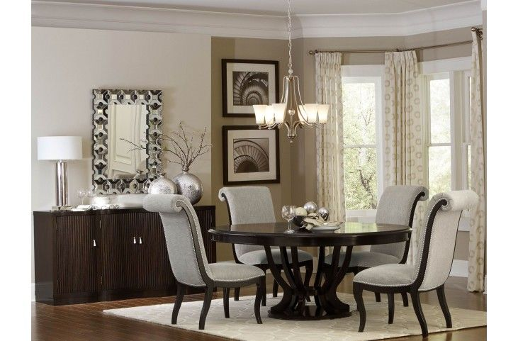 Ordinaire Savion Espresso Round Pedestal Extendable Dining Table From Homelegance | Coleman  Furniture