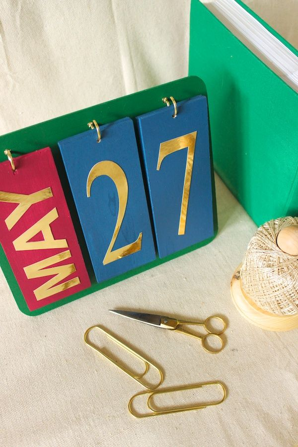 Diy Perpetual Calendar  Diy Craft Kits Monthly Craft Projects