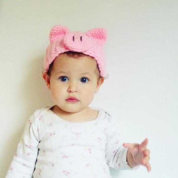 Pig Halloween Costume Crochet Pattern Headband PDF | CROCHET ...
