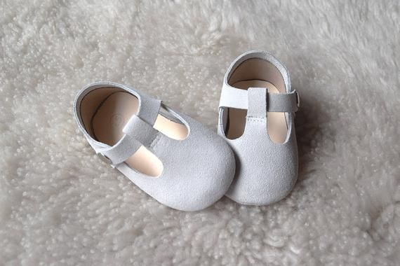 60e621f17e14f Off White Leather Baby Girl Shoes, Baptism Shoes, Baby Moccasins ...