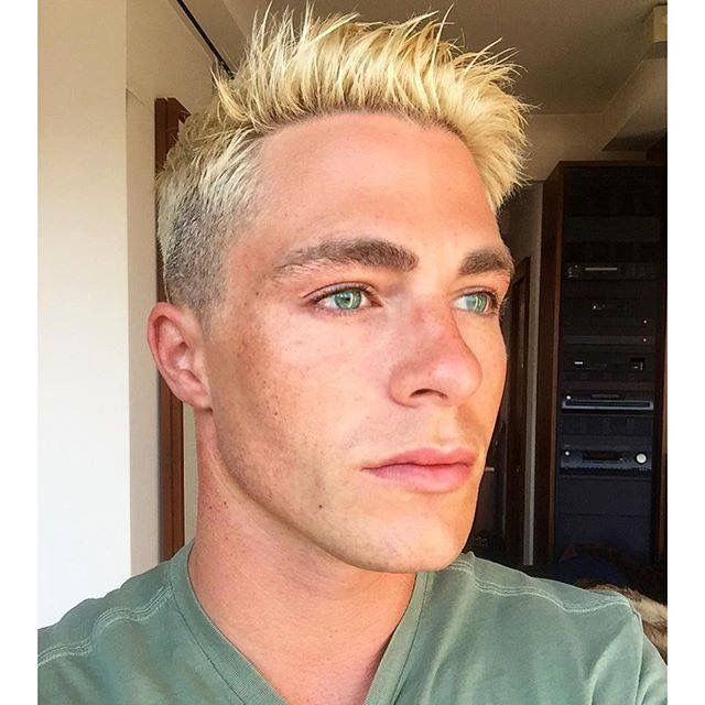 Pin By Morris Fowler On Colton Haynes With Images Blonde