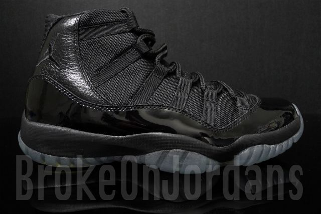 jordan retro 11 all black