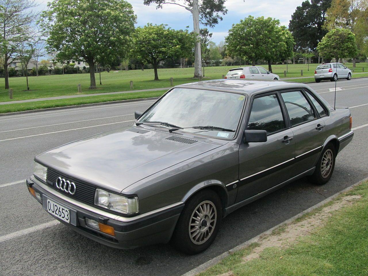 1985 Audi 90 Quattro (8207180309) - Audi 80 B2 - Wikipedia ...