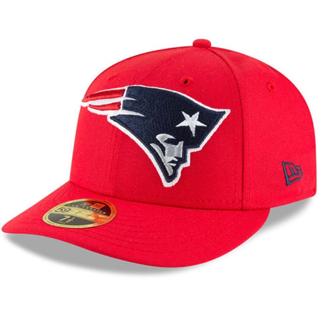 Men's New Era Red New England Patriots