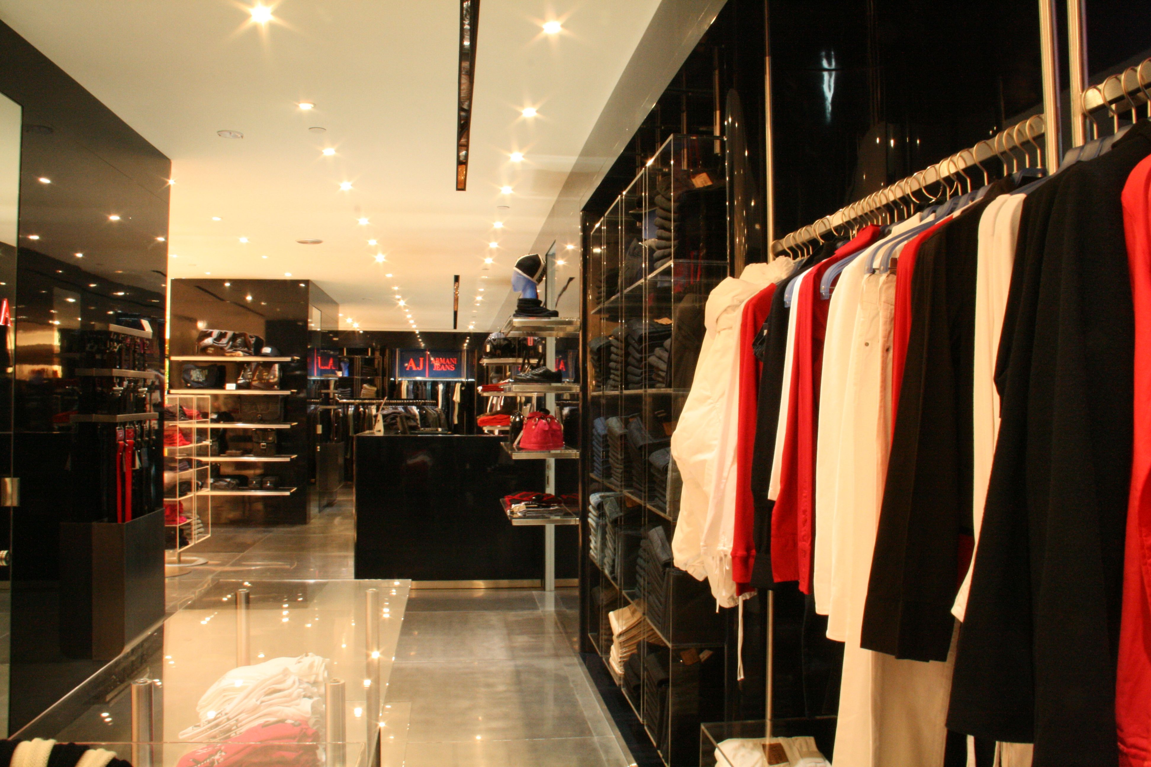 27cb991031 Armani Jeans Isetan Orchard | IN & OUT | Store design, Home Decor, Decor