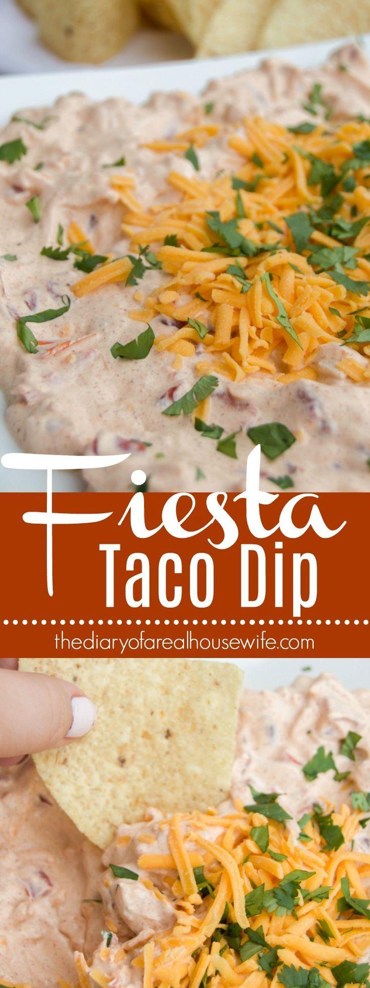 Fiesta Taco Dip