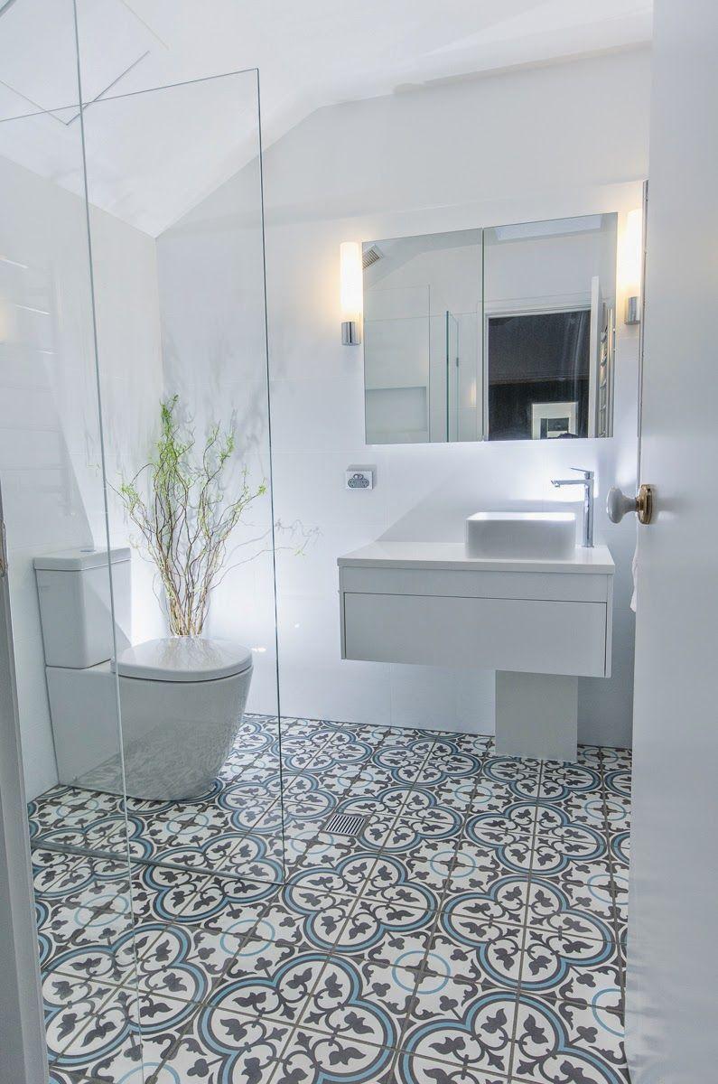 Lo que más me gusta de este baño a parte del suelo, como es obvio ...